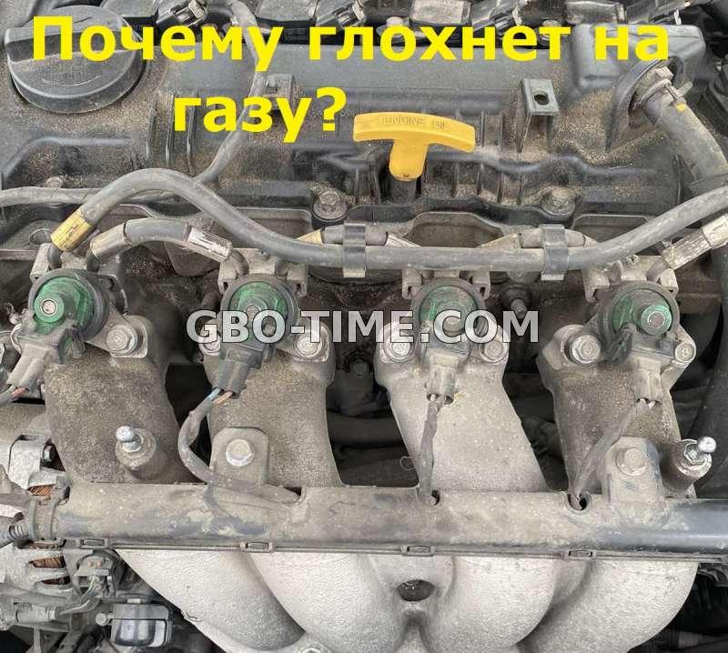 Почему двигатель глохнет на газу. Причины