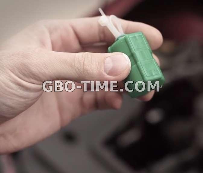 Пример как выглядит магниты +для уменьшение газа или бензина
